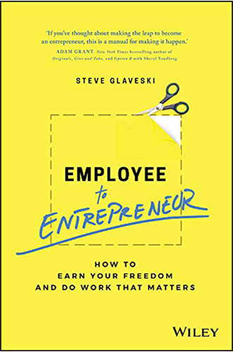 employee to entrepreneur by steve glaveski for Architecture Students
