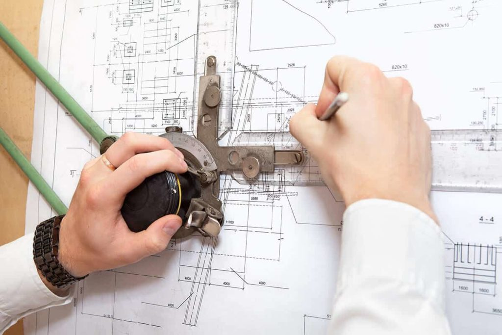 Drafting gear for architecture students