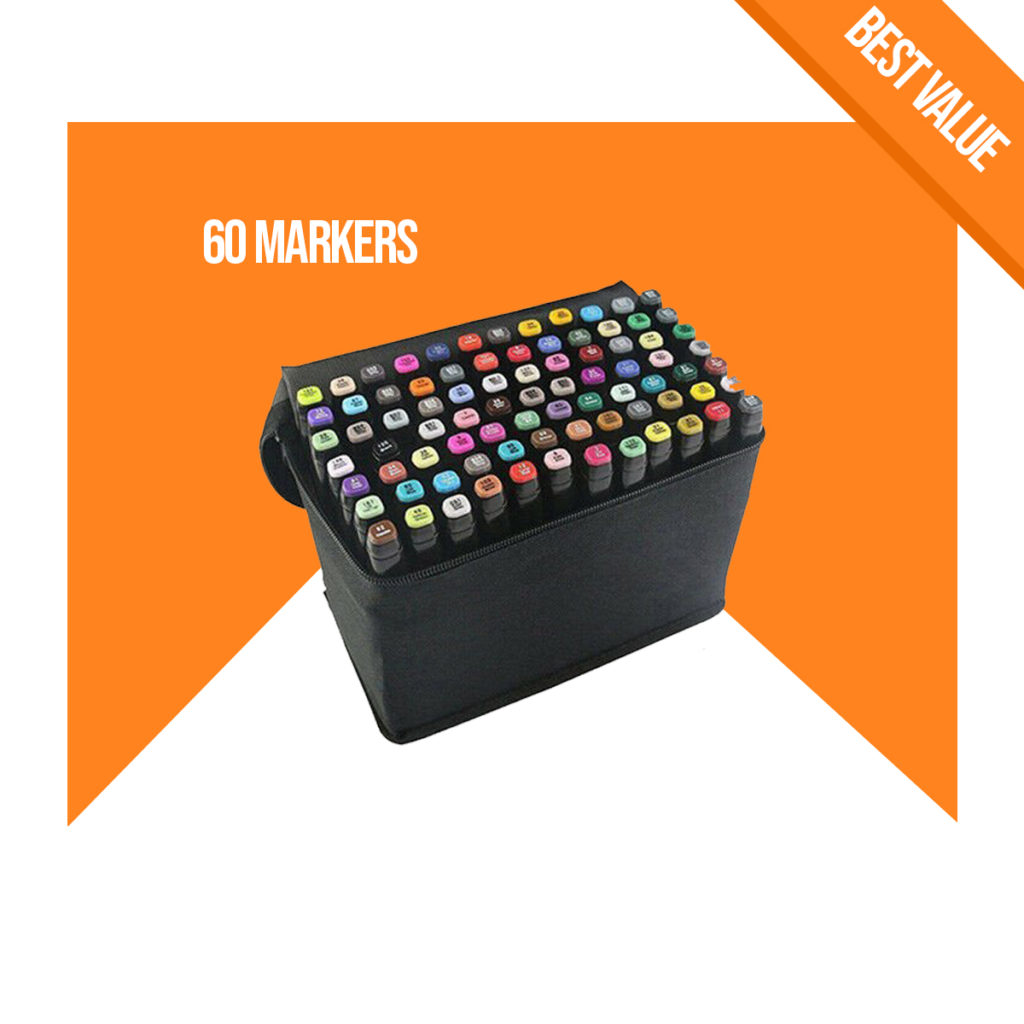 best markers for architecture student buy online architecture gear 60 pack