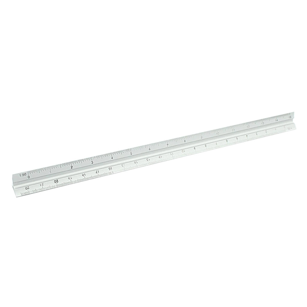 cheap metal 30cm scale ruler for architecture students and architect online store free shipping