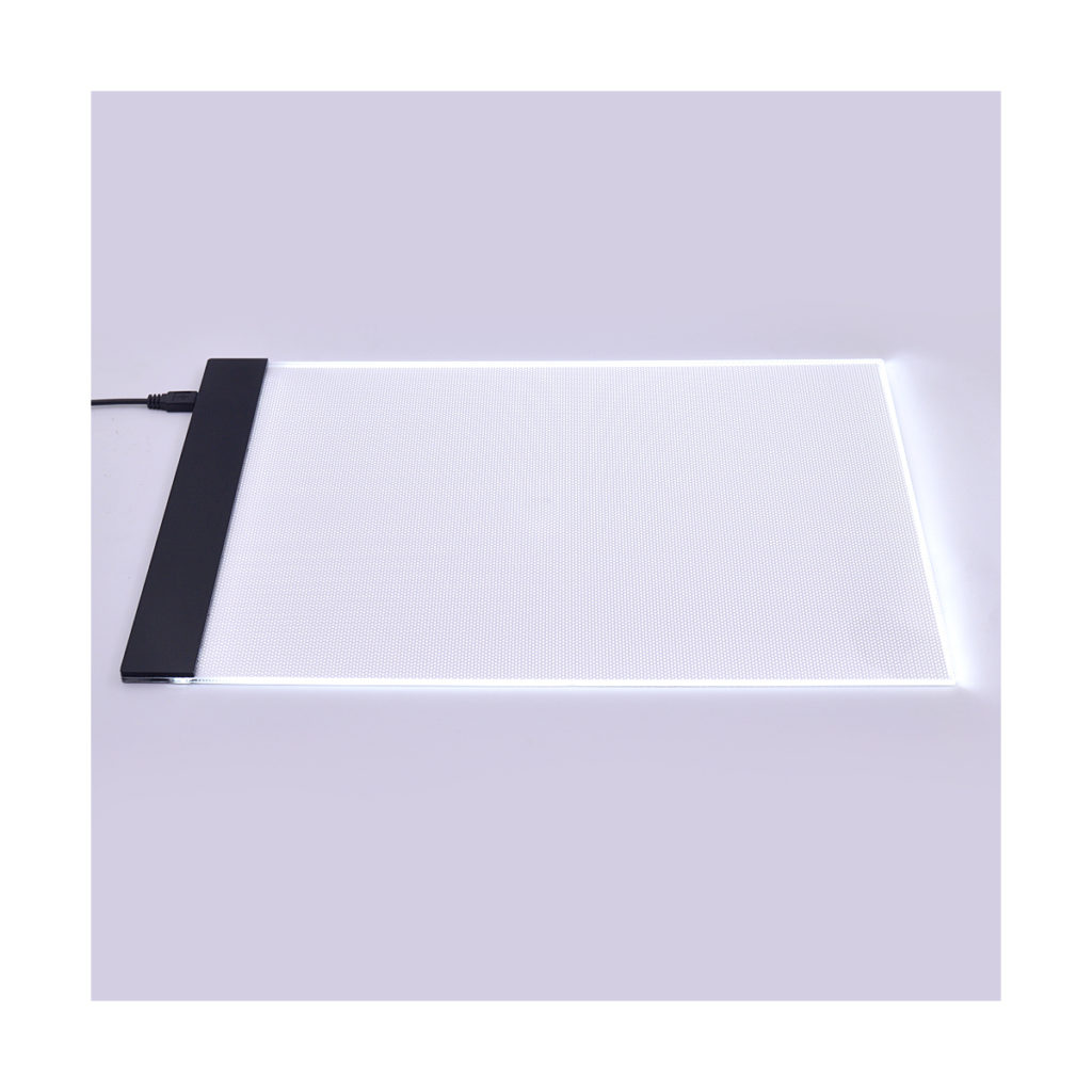led light up tracing pad for architecture students light box tablet table