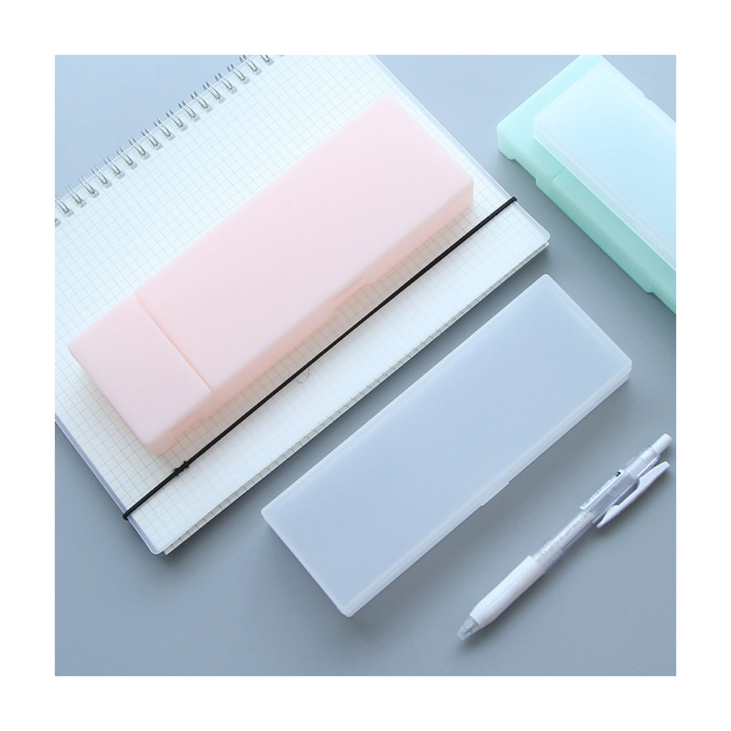transparent pencil box case for architecture student, artist, graphic designer, fabric design, pens or pencils, stationary case, fashion design, engineering, stationary casing online store free shipping