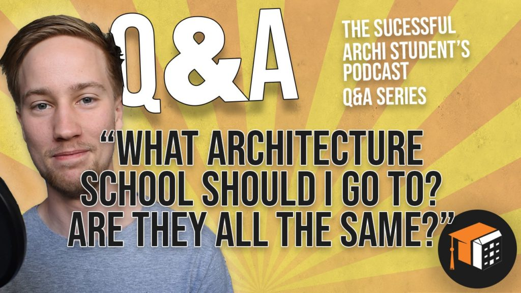 what architecture school should you go to and are they all the same? architecture college university