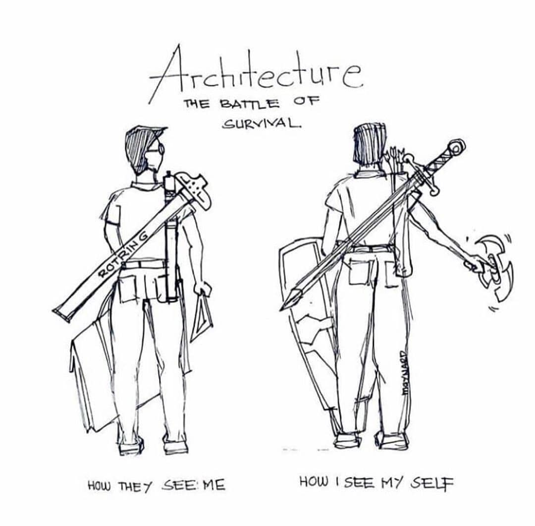 the best architecture student memes