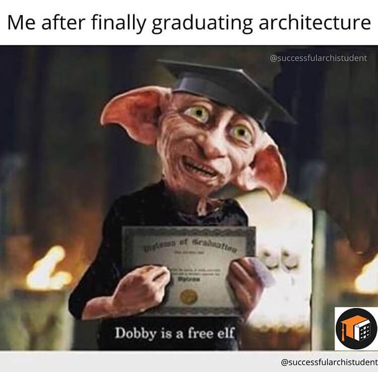 8 The best architecture memes for students in university or college