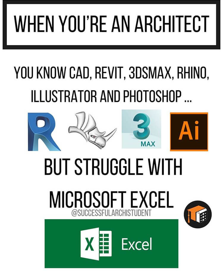 9 The best architecture memes for students in university or college