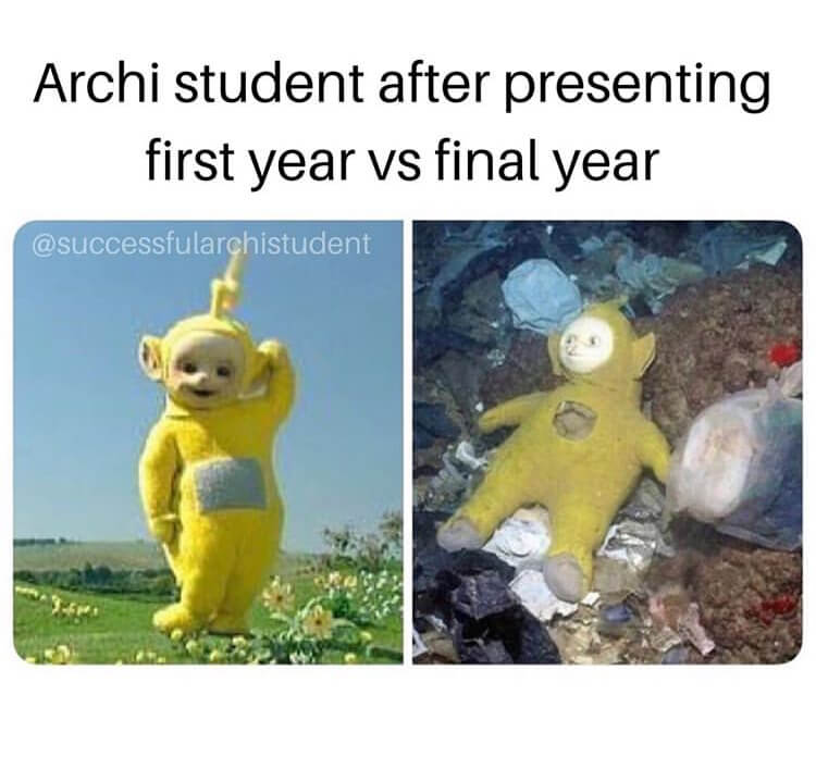 11 The best architecture memes for students in university or college