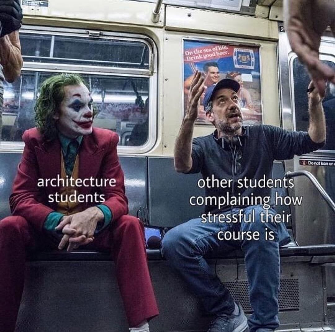 12 The best architecture memes for students in university or college