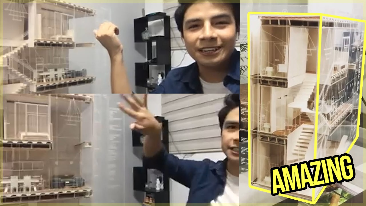 Final Year Architecture Student Explains Incredible 1:25 Model – How to Make Architecture Models