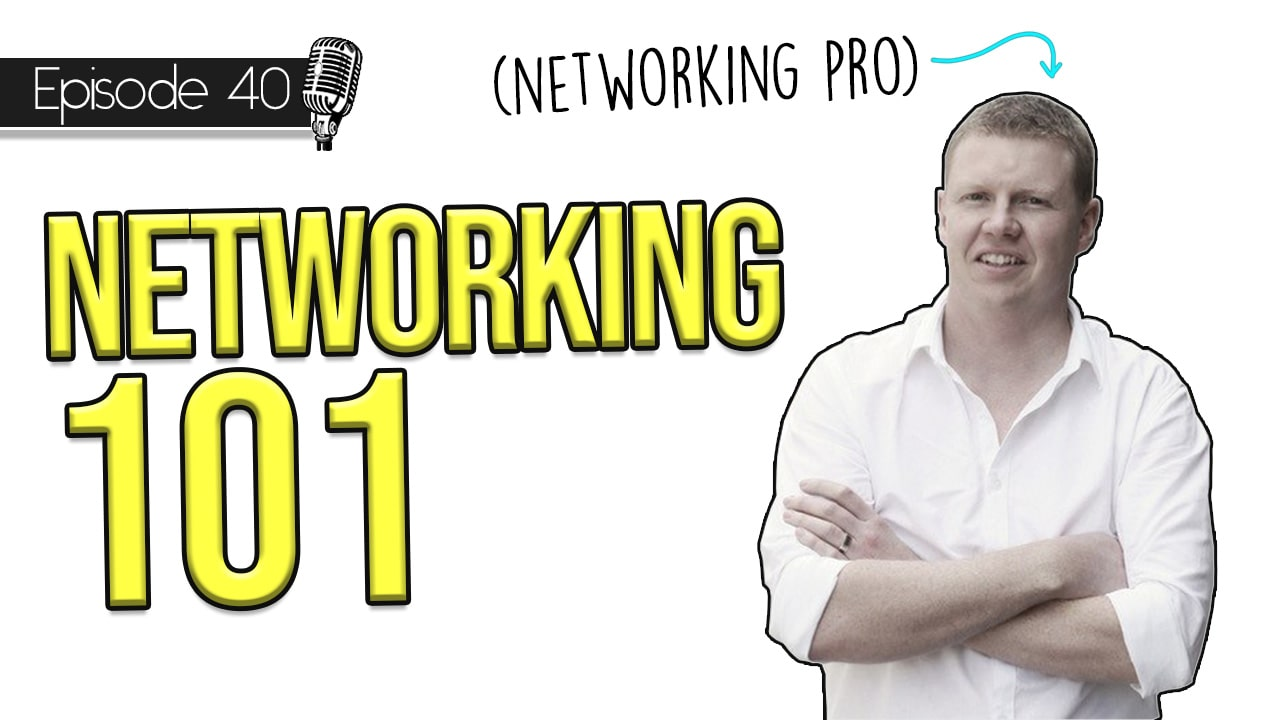 The Key to Success as an Architecture Student – Networking 101 with Chris Morley