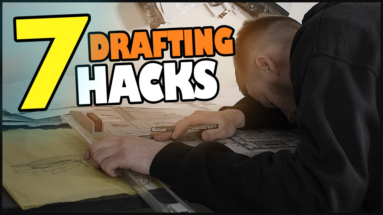The 7 BIGGEST Drafting Hacks for Architecture Students – Tips to Improve Architectural Drafting